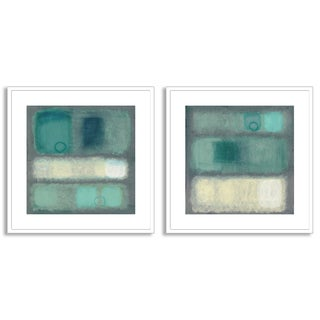 Gallery Direct Haynes Worth's 'Illusion I' and 'II' Art Two Piece Set