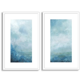 Gallery Direct Sean Jacobs's 'Ocean Front II' and 'III' Art Two Piece Set