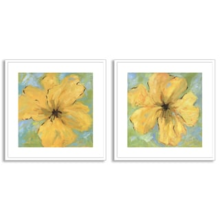 Gallery Direct Karen Wilkerson's 'Opulence I' and 'II' Art Two Piece Set