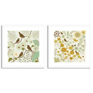 Gallery Direct Rouz's 'Birdsong II' and 'III' Art Two Piece Set