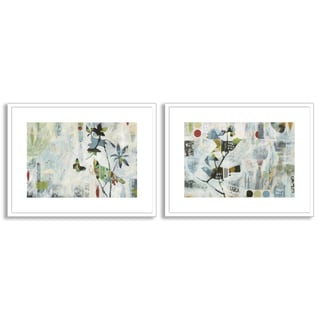 Gallery Direct Judy Paul's 'Meander I' and 'II' Art Two Piece Set