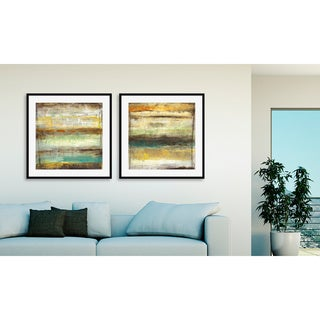 Gallery Direct Jane Bellows's 'Provoke I' and 'II' Art Two Piece Set