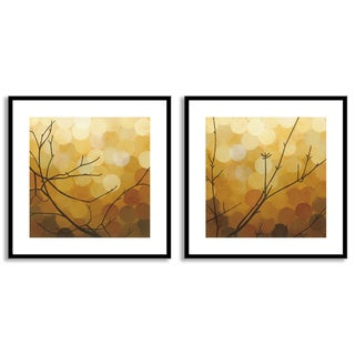 Gallery Direct Sean Jacobs's 'Autumn Shade I' and 'II' Art Two Piece Set