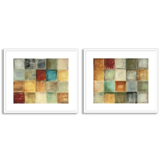 Gallery Direct Jane Bellows's 'Balanced Sequence I' and 'II' Art Two Piece Set