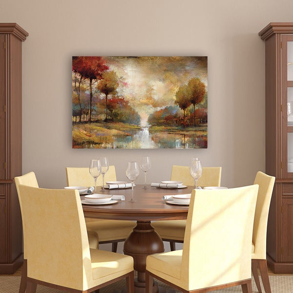 Portfolio Canvas Decor Fond Memoryu0027 Printed Gallery Wrapped Canvas Art    Free Shipping Today   Overstock.com   16795418