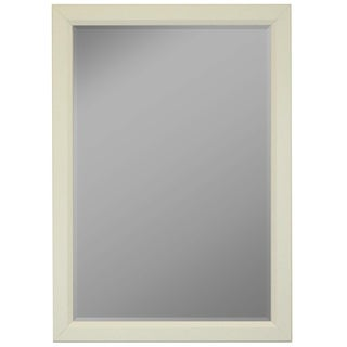 Hitchcock Butterfield Blanca Large White Modern Mirror