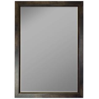 Espresso Walnut Profile Edge Framed Wall Mirror