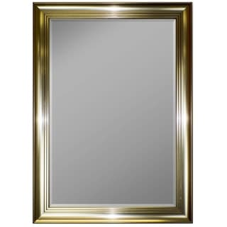 3-step Pewter Framed Wall Mirror