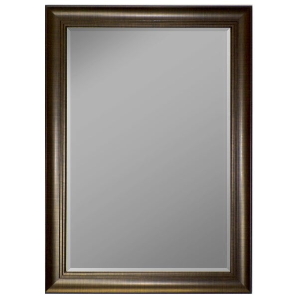 Hitchcock Butterfield Bravoss Large Copper Mirror - Bronze