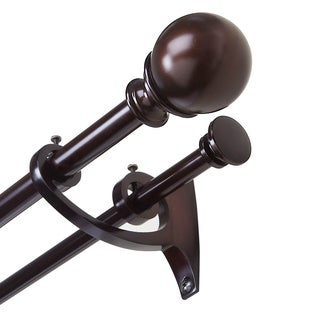 Umbra Diverge Double Curtain Rod