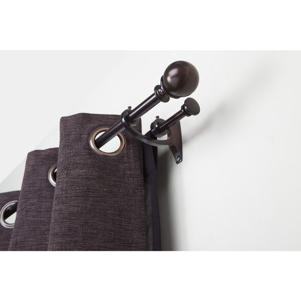 umbra diverge double curtain rod free shipping today