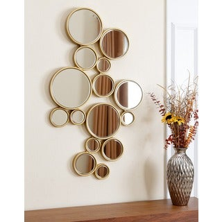ABBYSON LIVING Danby Circles Wall Mirror