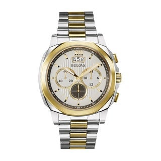 Bulova Men's 98B232 Stainless Steel Chronograph Watch
