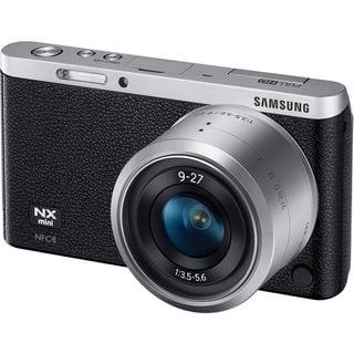 Samsung NX Mini Mirrorless Black Digital Camera with 9-27mm Lens