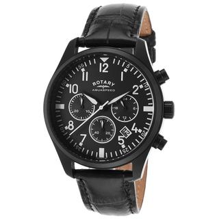Rotary Men's ROTARY-GS00110-04 Aquaspeed Black Watch