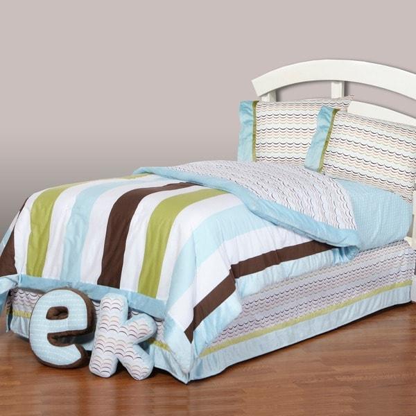 One Grace Place Puppy Pal 4-Piece Comforter Set