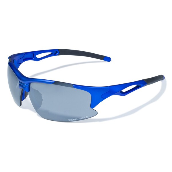 fae534ef46 Shop Men s  Friday  Blue Lens Sport Sunglasses - Free Shipping On Orders  Over  45 - Overstock.com - 9610218