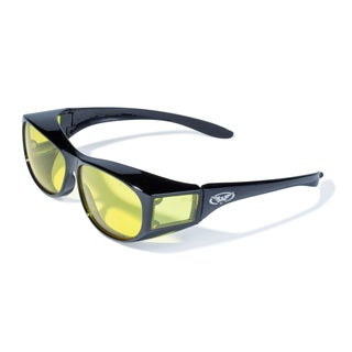 Unisex 'Escort' Yellow Lens Sunglasses