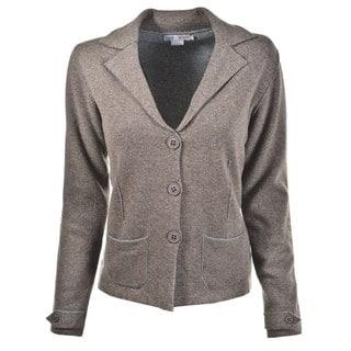 Luigi Baldo Women's Cashmere Blend Sweater Jacket