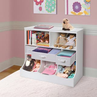 Taylor & Olive Lupine Combo Bin Storage Unit with Three Baskets