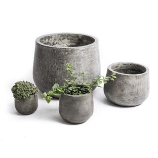 Handmade Eco Concrete Samai Planter (Vietnam)