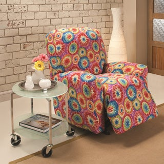 Stretch Jersey Tie-dye Large Recliner Slipcover