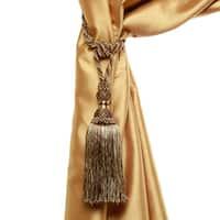 Aurora Home Verona Tassel Curtain Tie Back Pair - 8 inches