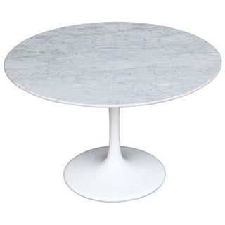 Flower 59-inch Marble Table