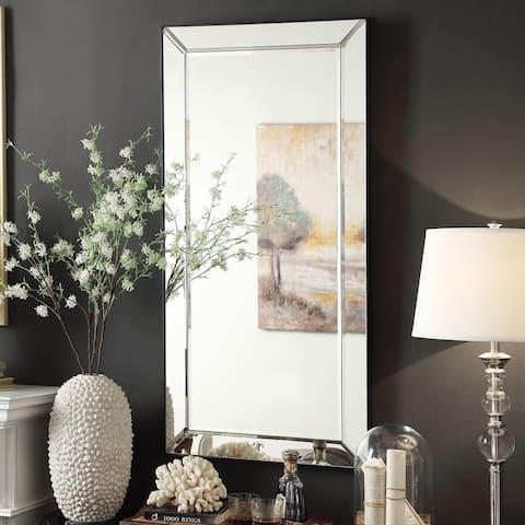 Conrad Mirrored Frame Rectangular Accent Wall Mirror by iNSPIRE Q Bold - N/A