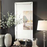 Conrad Mirrored Frame Rectangular Accent Wall Mirror by iNSPIRE Q Bold
