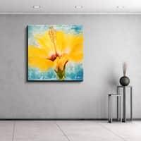 Ready2HangArt 'Painted Petals XVII' Canvas Wall Art