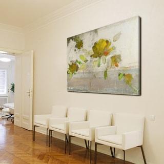 Ready2HangArt 'Painted Petals IV' Canvas Wall Art