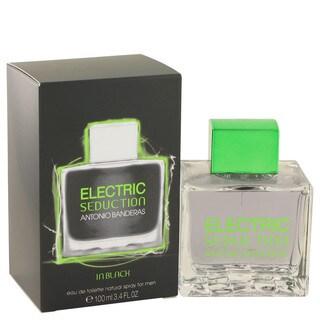 Antonio Banderas Electric Seduction in Black Men's 3.4-ounce Eau de Toilette Spray