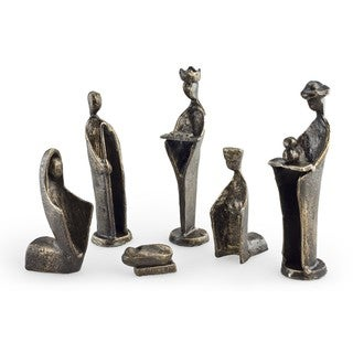 Link to 6 pc. Iron Nativity Set, Family & Kings Similar Items in Christmas Decorations