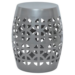 Artisan Pewter Garden Stool/ Side Table