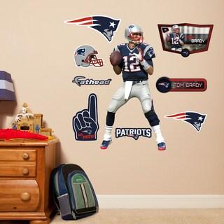 Fathead Jr. Tom Brady Wall Decals
