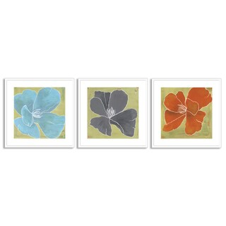 Gallery Direct Laura Gunn's 'Color Study I', 'IV' and 'V' Art Three Piece Set