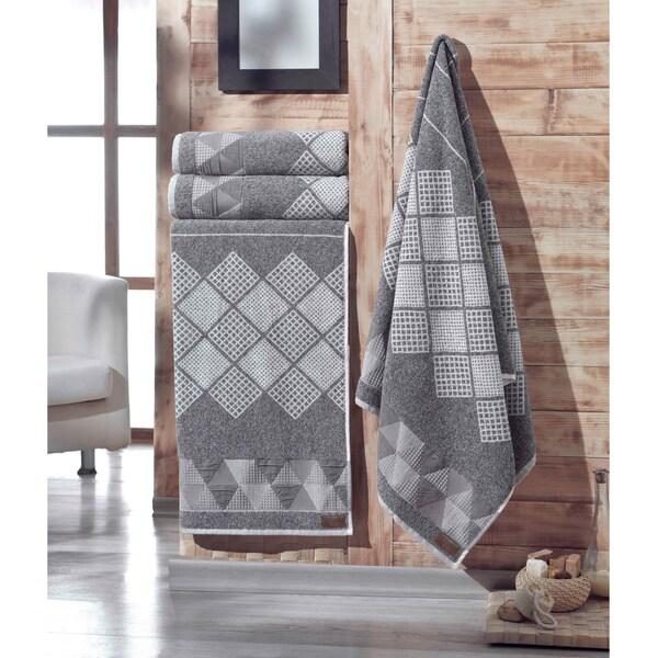 Enchante Concorde Turkish Cotton Bath Towel (Set of 2)