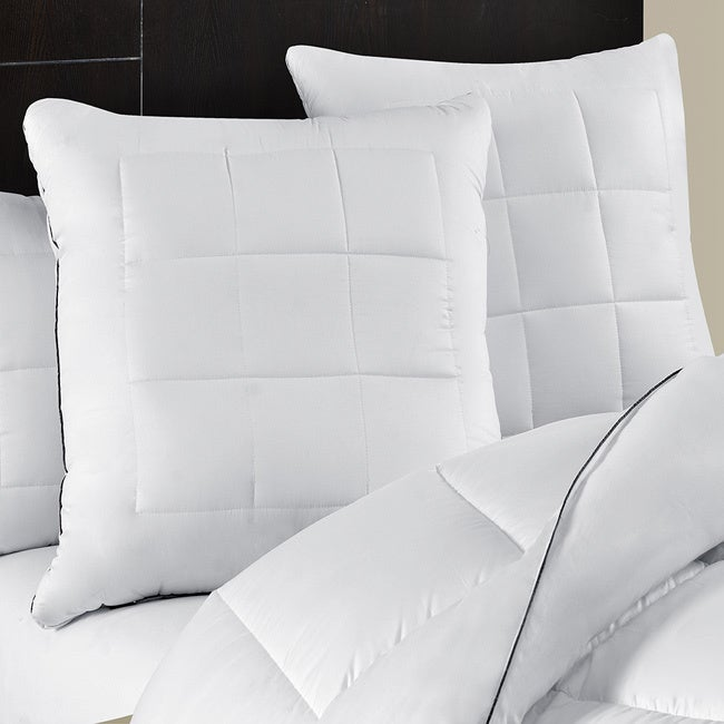 Maisón Luxe Ultimate Comfort & Support Luxury European Square Pillows (Set of 2) (European Square)