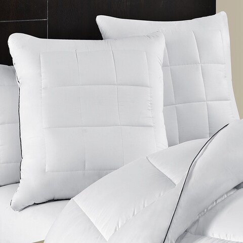 Maisón Luxe Ultimate Comfort & Support Luxury European Square Pillows (Set of 2)