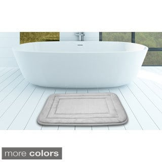 Indulgence Memory Foam Bath Mat (Set of 2)