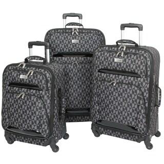 Geoffrey Beene Hearts 3-piece Spinner Luggage Set