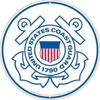 US Coast Guard Logo Aluminum Sign