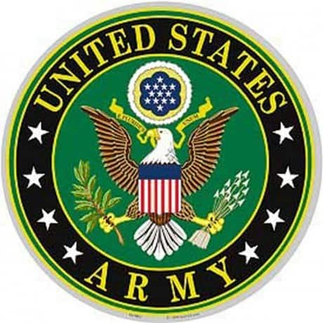 US Army Logo Aluminum Sign