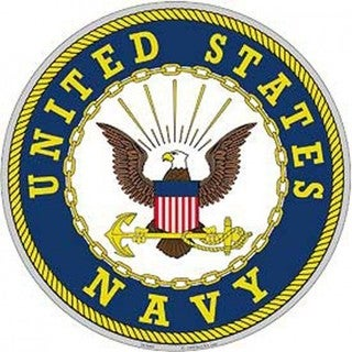 US Navy Logo Aluminum Sign