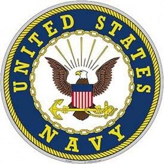 US Navy Logo Aluminum Sign