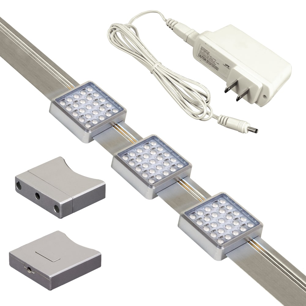 Silvertone Jesco Orionis Dimmable Slidable LED Undercabin...