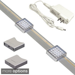 JESCO Orionis Dimmable Slidable LED Undercabinet Track Kit
