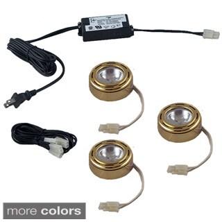 Jesco 3-light Halogen Puck Light Kit