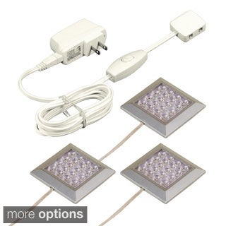 JESCO Orionis Square 3-light LED Surface Mount Kit